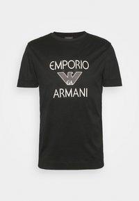 Emporio Armani - Print T-shirt - black - 0