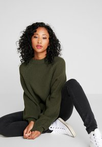 Monki - GITTY  - Jumper - khaki - 3