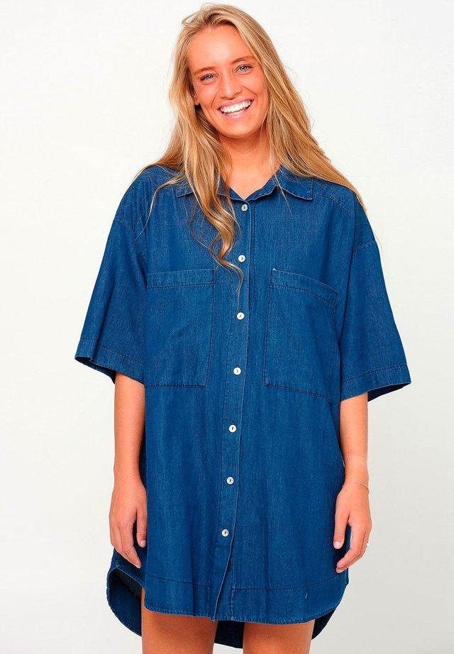 MAIDEN - Overhemdblouse - blue denim