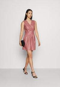 WAL G. - ZASHA MINI DRESS - Cocktail dress / Party dress - dark blush pink - 1