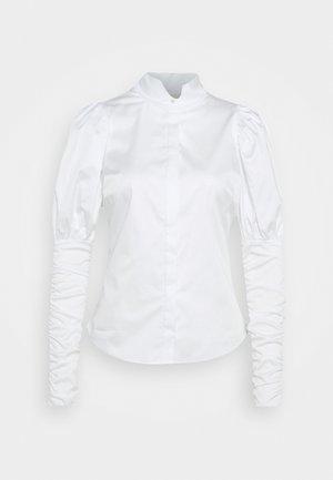 NILA - Button-down blouse - white