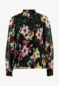 ONLY - ONLTHEA SMOCK   - Blouse - black - 4