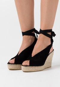 Vidorreta - High heeled sandals - black - 0