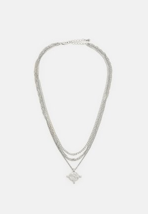 PCVILLA COMBI NECKLACE - Necklace - silver-coloured