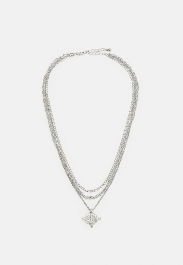 PCVILLA COMBI NECKLACE - Smykke - silver-coloured
