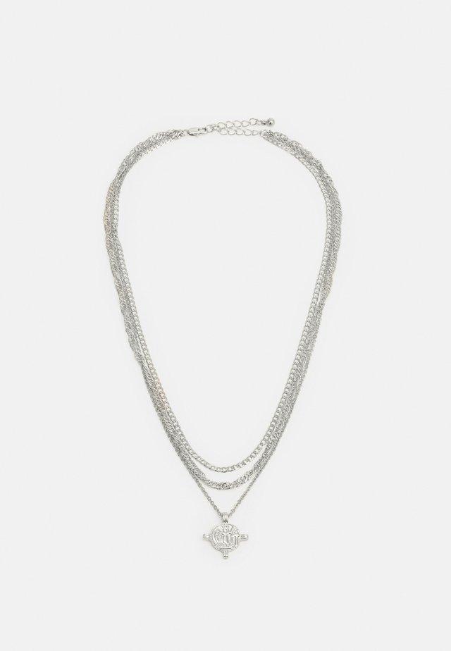 PCVILLA COMBI NECKLACE - Naszyjnik - silver-coloured