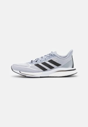 SUPERNOVA BOOST BOUNCE - Neutral running shoes - halo silver/core black/matte silver