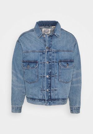 OVERSIZED TYPE II TRUCKER UNISEX - Chaqueta vaquera - blue denim