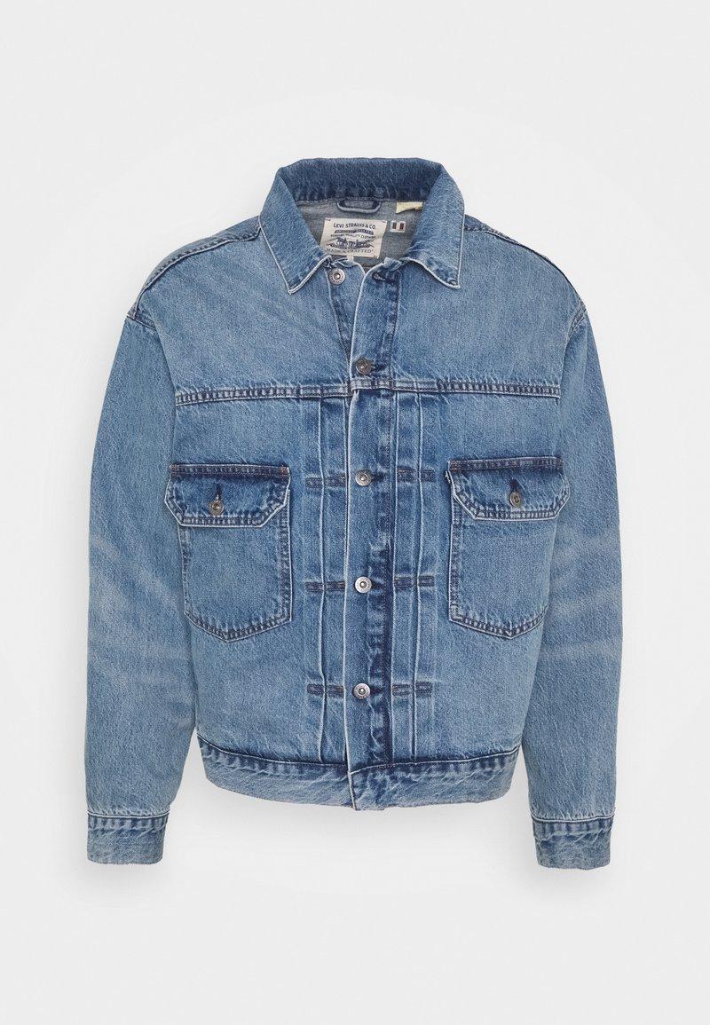 Levi's® Made & Crafted - OVERSIZED TYPE II TRUCKER UNISEX - Džínová bunda - blue denim