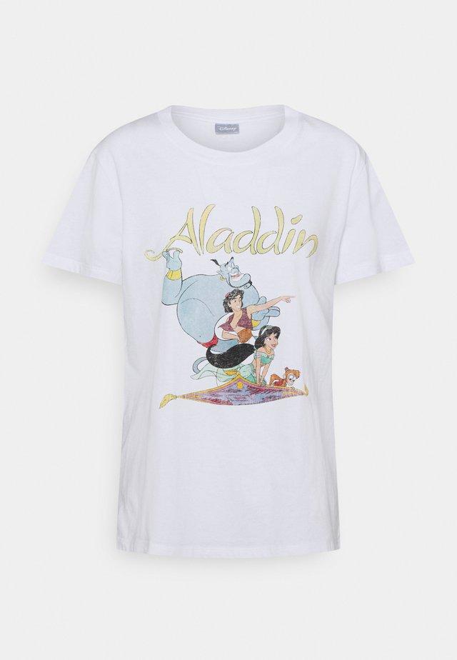 CLASSIC DISNEY - Camiseta estampada - white