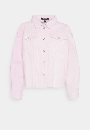 PUFF SLEEVE JACKET - Summer jacket - pink