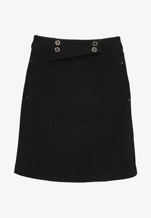 JELLY - Áčková sukně - noir