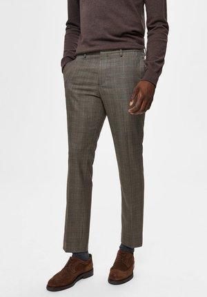 Pantaloni eleganti - brown sugar