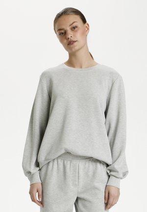 Sweatshirt - titanium melange