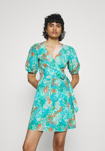 DISTY BLUE MINI DRESS - Denní šaty - blue