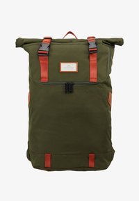 Doughnut - CHRISTOPHER - Rucksack - army with rust straps - 9