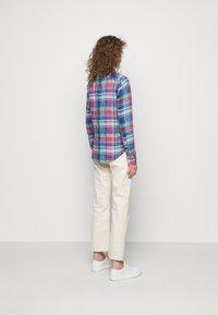 Polo Ralph Lauren - PLAID - Button-down blouse - pink/blue - 2