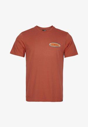 FROTH HUT - T-shirt med print - redwood