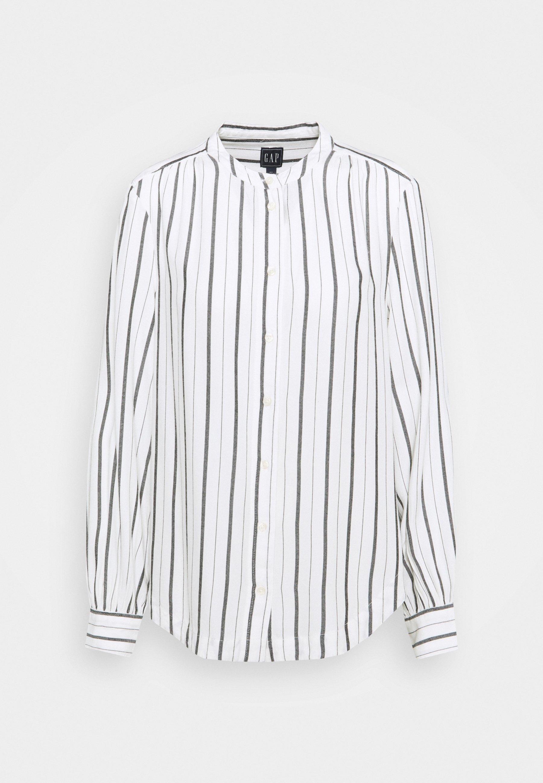 Women SHIRRED - Button-down blouse