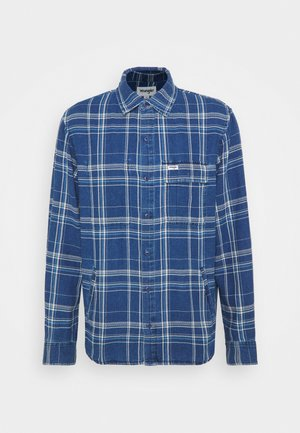 OVERSHIRT - Summer jacket - mid indigo