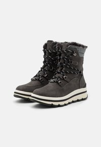 TOM TAILOR - Winter boots - coal - 2