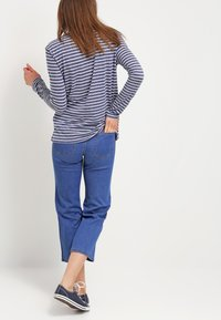 Samsøe Samsøe - NOBEL STRIPE - Long sleeved top - white/blue - 2