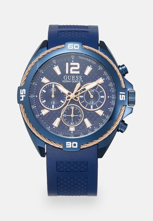 Chronograph watch - dark blue