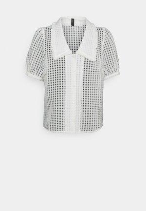 YASCALINA - Button-down blouse - eggnog