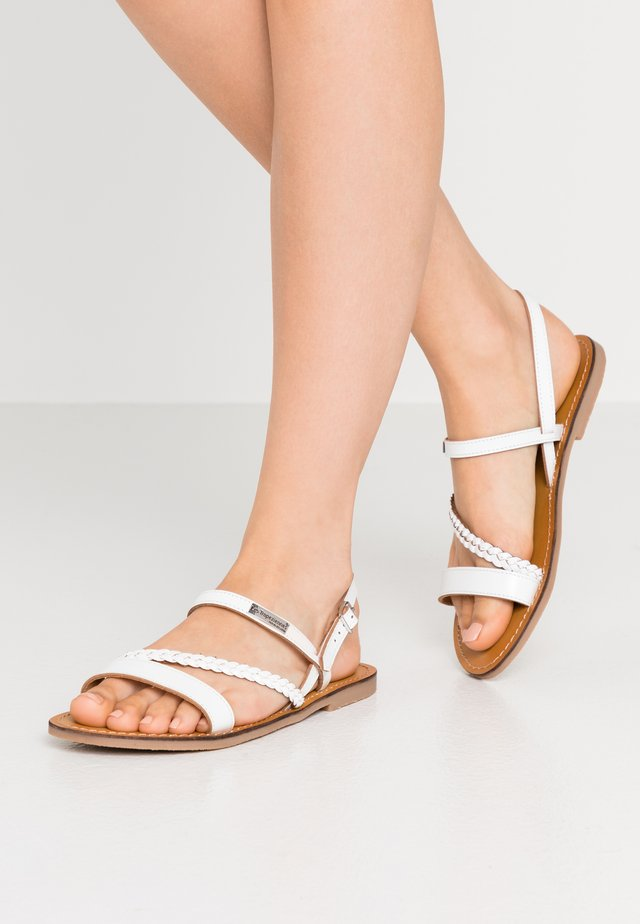 BATRESS - Sandals - blanc