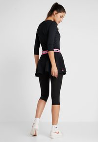 BIDI BADU - FAIDA TECH SCAPRI - Leggings - black/pink - 2