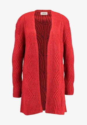 Cardigan - rococco red
