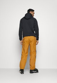 The North Face - UP & OVER PANT TIMBER - Snow pants - tan/black - 2