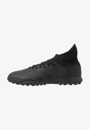 PREDATOR - Astro turf trainers - core black/dough solid grey