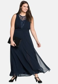 Sheego - Cocktail dress / Party dress - dark blue - 1
