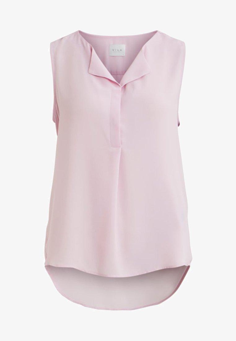 Vila - VILUCY TOP  - Button-down blouse - lilac