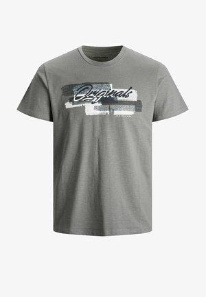JUNGS PINSELSTRICH - T-shirt med print - sedona sage