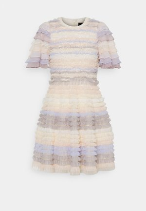 LUELLA RUFFLE MINI DRESS - Cocktail dress / Party dress - porcelain