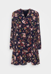 Day dress - dark blue/pink
