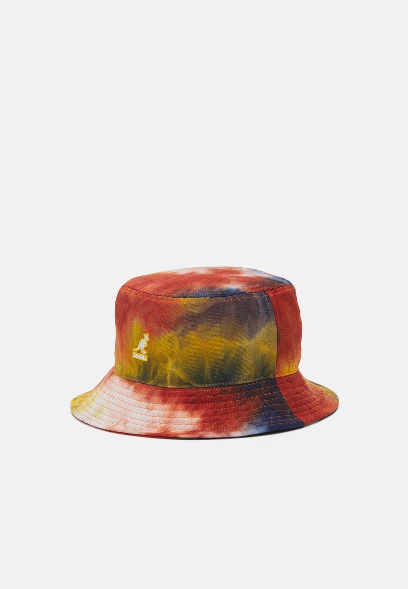 Kangol - TIE DYE BUCKET UNISEX - Hattu - golden palm