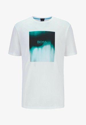 TIRIS  - T-shirt imprimé - white