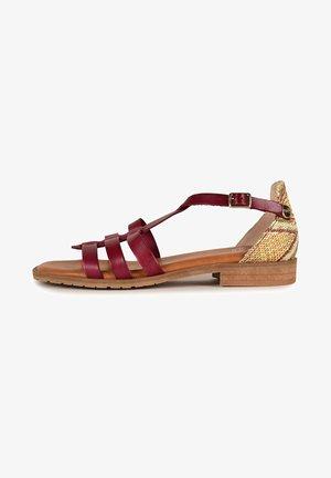 ARIANE F2F - Sandals - burgundy