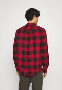 Pier One - Shirt - red/black - 2