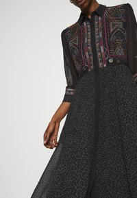 Desigual - VEST WUHAN - Shirt dress - black - 3