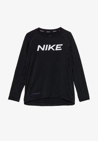 Nike Performance - B NP LS FTTD TOP - Funktionsshirt - black - 3