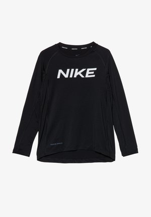 B NP LS FTTD TOP - Sports shirt - black