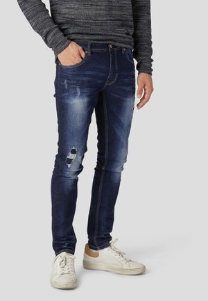 BRICE - Jeansy Slim Fit - dark blue washed