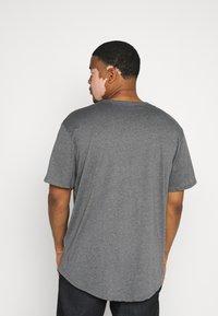 Only & Sons - ONSMATT LONGY TEE 7 PACK  - Basic T-shirt - black/white /forest - 2