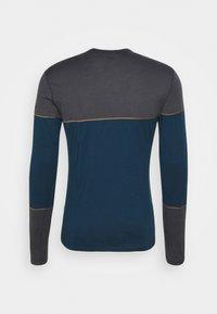 Icebreaker - DELUXE CREWE - Sports shirt - nightfall - 1