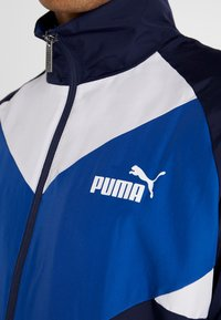 Puma - RETRO TRACKSUIT - Träningsset - galaxy blue - 5