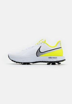 REACT INFINITY PRO - Chaussures de golf - white/black/lemon